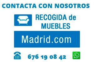 Recogida de Muebles Madrid